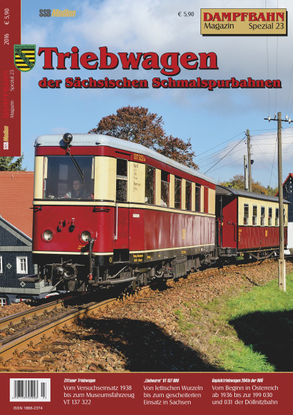 Spezial 23: Triebwagen der Sächsischen Schmalspurbahnen