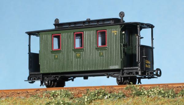 IK-Zug: Personenwagen 107K