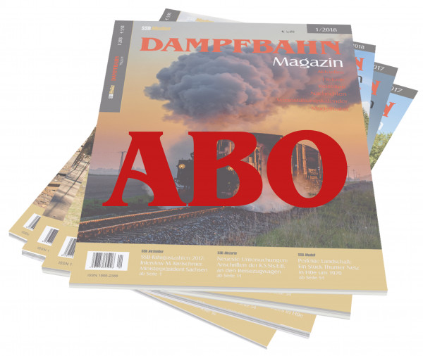 Abo Dampfbahn-Magazin