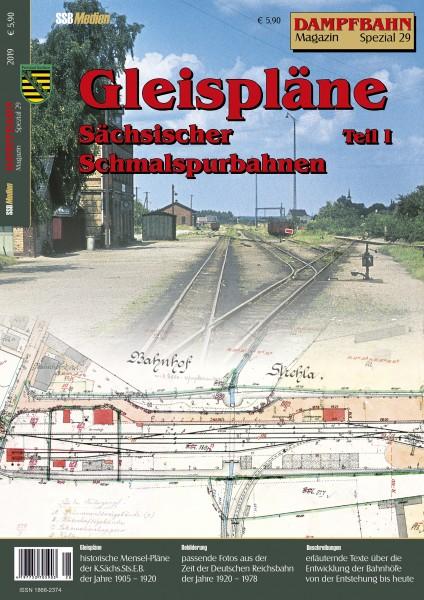 Spezial 29: Gleispläne Sächsischer Schmalspurbahnen Teil 1