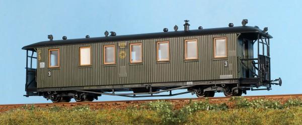 Reichsbahnzug: Traglastenwagen K1129