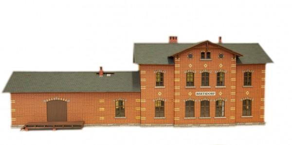 Modellbausatz Bahnhof Bertsdorf