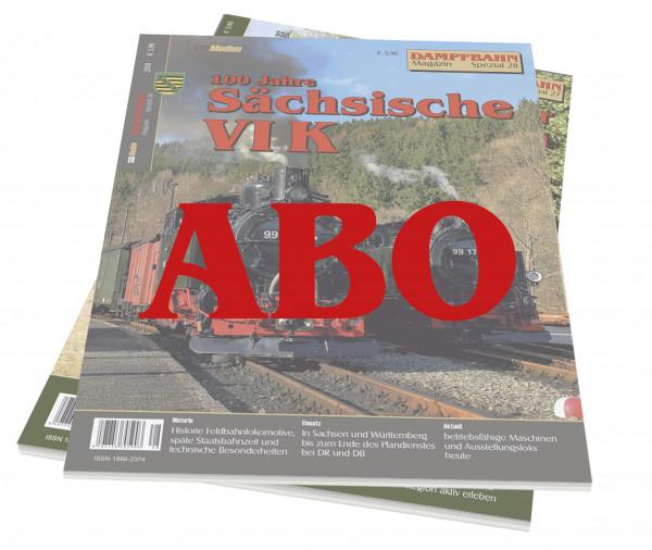 Abo Dampfbahn-Magazin Spezial