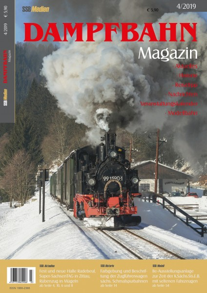 Dampfbahn-Magazin 4/19