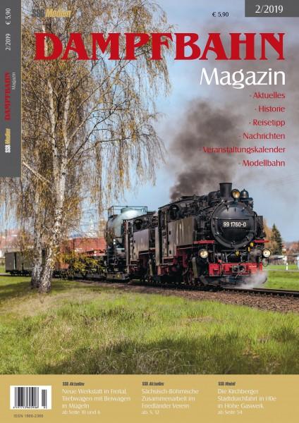Dampfbahn-Magazin 2/19