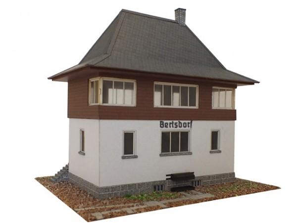 Modellbausatz Stellwerk Bertsdorf