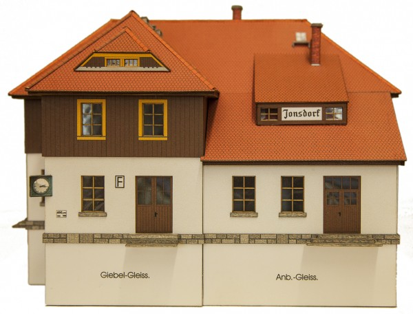 Modellbausatz Bahnhof Jonsdorf