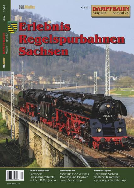 Spezial 24: Regelspurbahnen in Sachsen