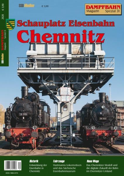 Spezial 31: Schauplatz Eisenbahn Chemnitz
