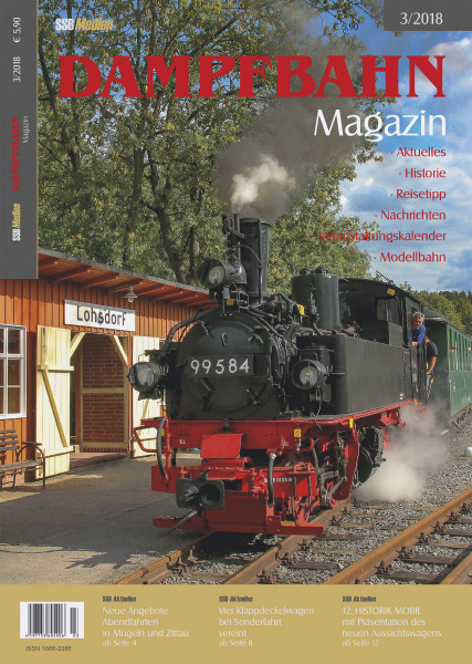 Dampfbahn Magazin 3/18