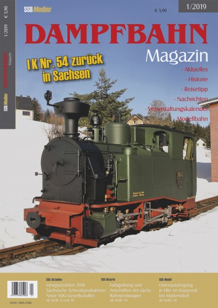 Dampfbahn-Magazin 1/19