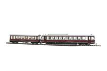 Döllnitzbahn - Zug: SET Triebwagen VT 137 und Beiwagen VB 186
