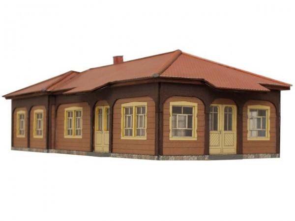 Modellbausatz Jonsdorf Haltestelle Wartehalle