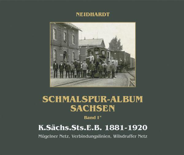 Neuauflage K.Sächs.Sts.E.B. Band I