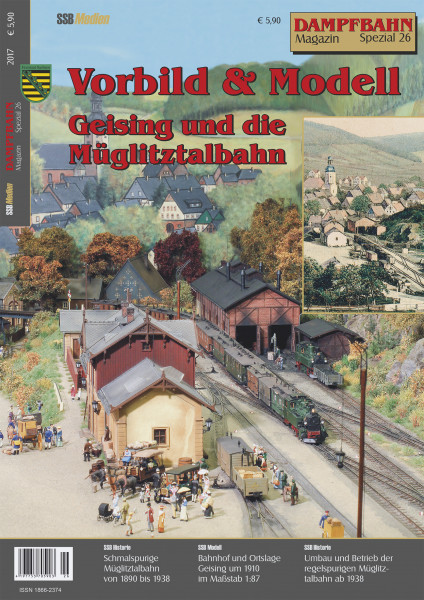 Spezial 26: Vorbild & Modell - Müglitztalbahn