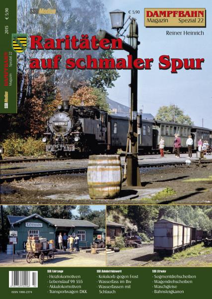 Spezial 22: Raritäten bei Sächsischen Schmalpurbahnen