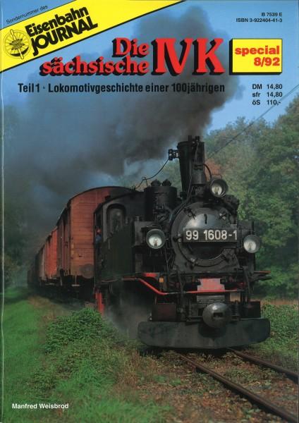 Antiquariat Broschüre Die sächsische IV K Teil 1