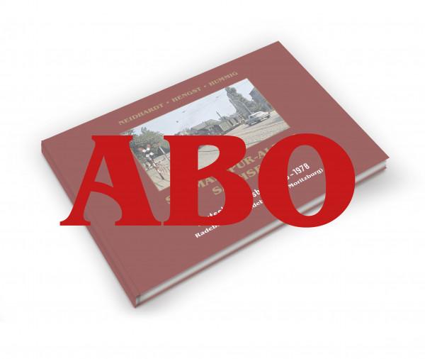 Abonnement Schmalspur-Album DR 1945-1978