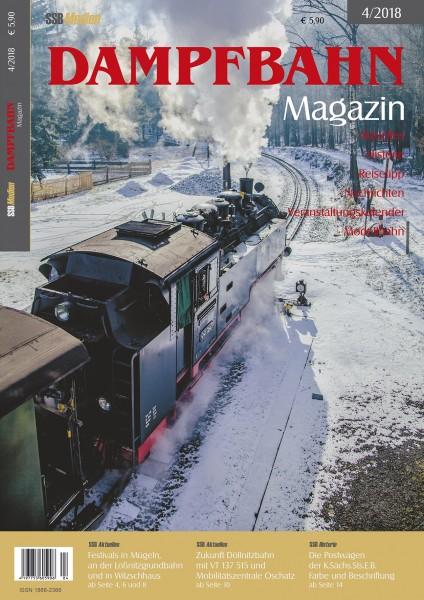 Dampfbahn-Magazin 4/18