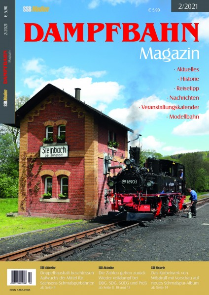 Dampfbahn-Magazin 2/2021