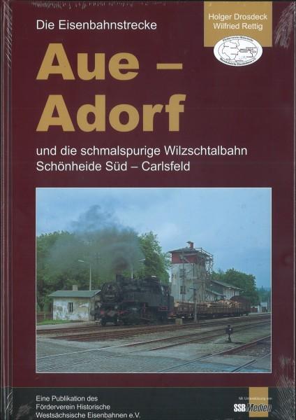 """Buch """"Die Eisenbahnstrecke Aue - Adorf"""""""