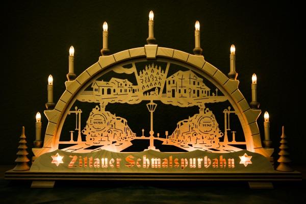 Schwibbogen Zittauer Schmalspurbahn