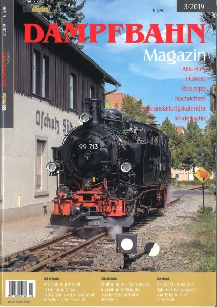 Dampfbahn-Magazin 3/19
