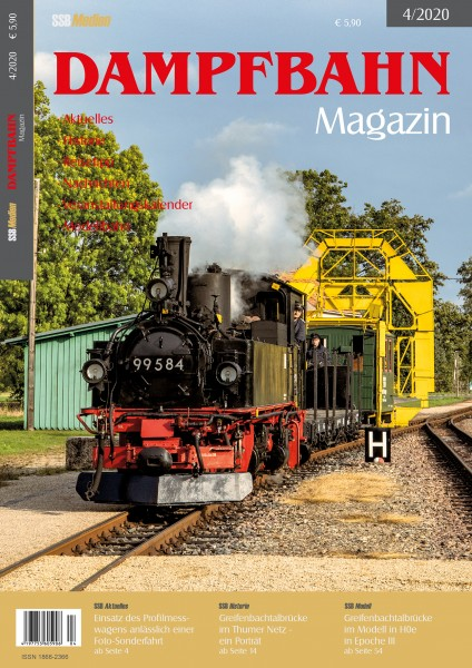 Dampfbahn-Magazin 4/2020