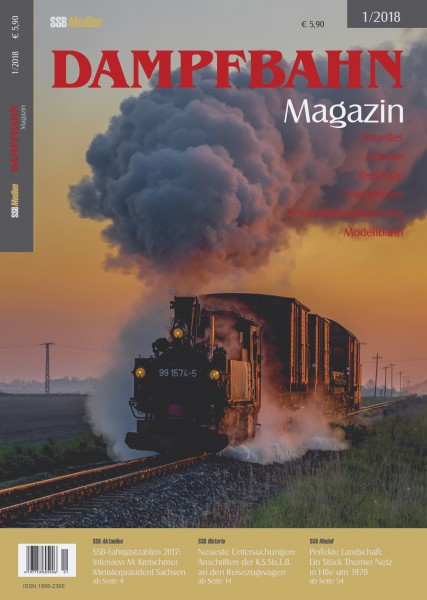 Dampfbahn-Magazin 1/18