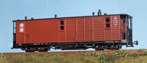 Sachsenzug: Packwagen 1381K
