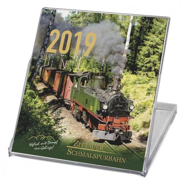 CD-Tischkalender 2019 Zittauer Schmalspurbahn