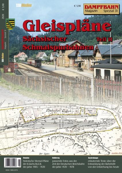 Spezial 32: Gleispläne Sächsischer Schmalspurbahnen Teil 2